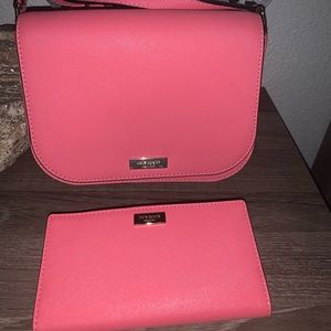 Kate Spade Cross body bag and wallet set